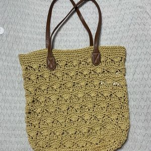 TRENDY BEACH BAG/PURSE